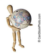 重量, 世界
