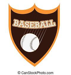 野球, 紋章, 隔離された