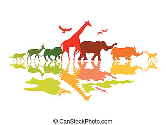 野生動物, 旅行隊