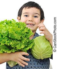野菜, 保有物, 子供