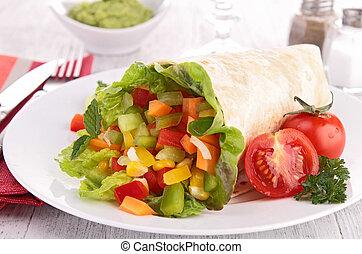 野菜, 包みなさい