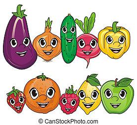 野菜, 幸せ, 成果
