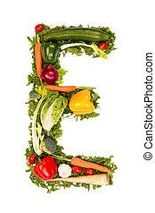 野菜, 手紙