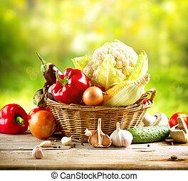 野菜, 有機体である