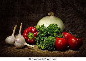 野菜, 生活, まだ