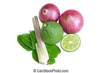 野菜, 白い背景