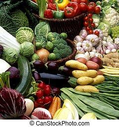 野菜, 静かな 生命