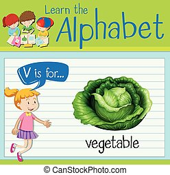 野菜, flashcard, 手紙, v