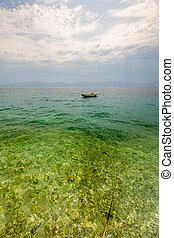 野, 普拉, 海滩, 克罗地亚