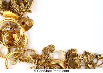 金の宝石類