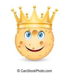 金の王冠, チーズ