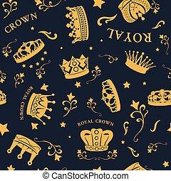 金の王冠, パターン