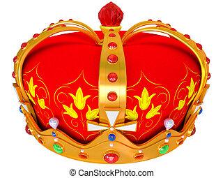 金の王冠, 皇族