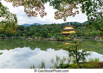 金パビリオン, 京都, kinkakuji, 日本, 寺院