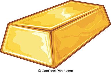 金塊, 金