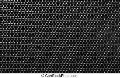 金属の格子, 背景, ブラックホール, holed
