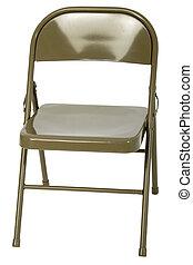 金属の 椅子, 折りたたみ