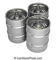 金属, ビール, 小樽