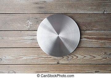 金属, 円, シート