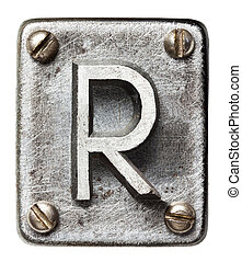 金属, 手紙