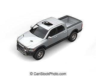 金属, 銀, 強力, 積み込みの トラック