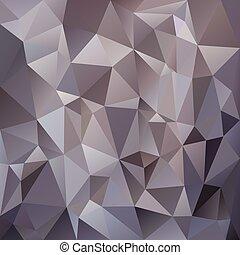金属, 钢铁, 灰色的背景, -, 三角形, 矢量, 银, 设计, 颜色, polygonal