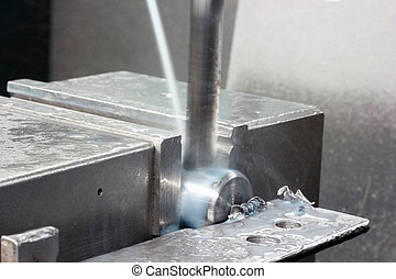 金屬加工, cnc, 銑床