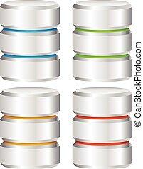 金屬, cylinder., webhosting, 服務器, 主机, 電腦, concepts., 檔案, 資料庫, 硬盤驅動器, hdd, 矢量, 圖象, 金屬, cylinder., webhosting, 服務器, 主机, 電腦, concepts., 檔案, dat