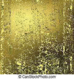 金色, 摘要, 金属, 结构, 生锈, 背景