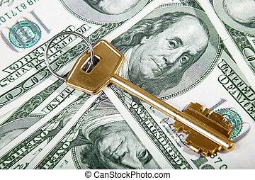金色, 财富, 钥匙