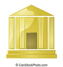 金色, 银行
