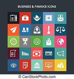 金融, ビジネス アイコン