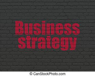 金融, ビジネス, 壁, 作戦, 背景, concept: