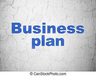 金融, ビジネス, 壁, 計画, 背景, concept: