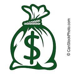 金錢 袋子