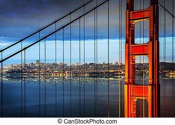 金門大橋, 舊金山