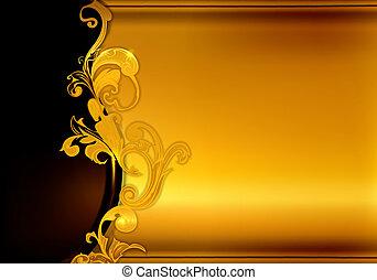 金黃 背景, 10eps