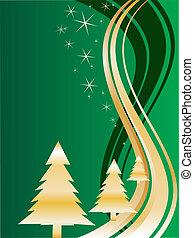 金, クリスマスツリー