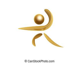 金, シンボル, スポーツ