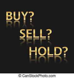 金, ベクトル, 取引しなさい, アイコン, 株式 市場, オプション, 3, ビジネス, 変形, 買い物, 売る, 把握, 販売, シンボル, 隔離された, 白, 背景