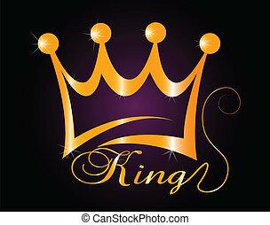 金, ベクトル, 王冠