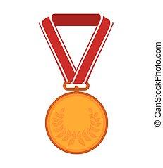 金, メダル, 金, アイコン