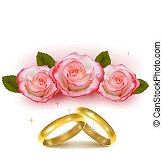 金, リング, 結婚式