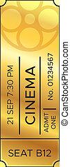 金, 入口, セット, 優れた, 金, ショー, 映画, 入(学・会)許可, 映画館, ticket., tickets., 現実的, 古い, ベクトル, 劇場, ∥あるいは∥, 娯楽, ショー