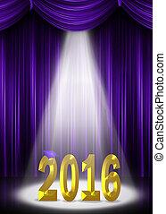 金, 卒業, 2016, 紫色