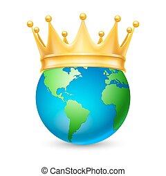 金, 地球, 王冠