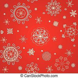 金, 壁紙, クリスマス, 型, パターン