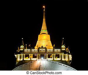 金, 山, タイ, バンコク