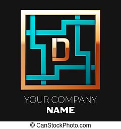 金, 形をまっすぐにしなさい, 権利, デザイン, ロゴ, あなたの, 迷路, ∥象徴する∥, バックグラウンド。, 黒, テンプレート, 迷路, カラフルである, シンボル, cyan-golden, 選択, 手紙, d, solutions., 現実的, ベクトル, 道