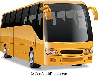 金, 快適である, バス, 都市